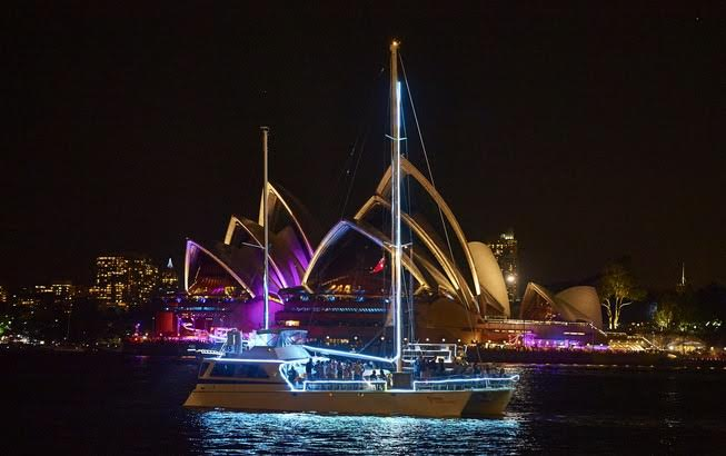 Night Cruise boat Sydney